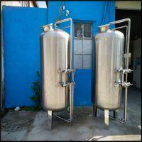 阳东县工业中水回用前置石英砂过滤器污水深处理澄清水质 A3碳钢机械罐制造商 清又清