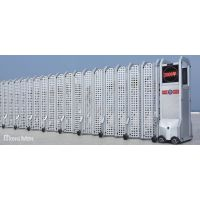优质天翼网格电动伸缩门,适用于机场、粮库等