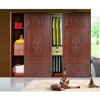中式风格衣柜推拉门尽显家居品味,你家有吗?