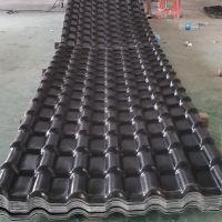 asa合成树脂瓦片 观景台屋顶瓦 仿古装饰雨棚瓦 塑料建材