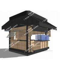 内蒙古大型商场花车新疆木制售货车广西公园售货亭