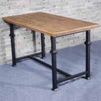 众美德定制实木餐桌|美式乡村圆餐桌|方形餐桌|服务周到