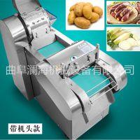 食堂切菜机 商用全自动配菜机 蔬菜切段机
