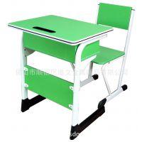 港文厂家直销培训桌椅 学生可升降课桌椅 可升降金属学生课桌椅灰白色GW-C60