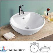 卫生洁具台上洗脸盆洗手盆单孔台面一体式盆