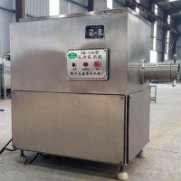 厂家直销大型绞肉机 商用冻肉绞肉机 冷库冻盘粉碎机