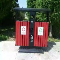 献县鑫建批发果壳箱 钢木垃圾桶 环卫垃圾桶 公园垃圾箱 厂家批发