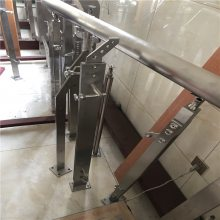 新云 供应大型商场不锈钢护栏立柱 机场走廊不锈钢楼梯扶手