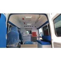 新世代全顺救护车,福星高顶,监护型救护车,玻璃钢内饰救护车