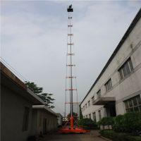 上海厂家供应可倾斜式套缸式升降平台 套缸式升降机 高空作业平台
