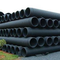 陕西双壁波纹管厂家市政排水管道