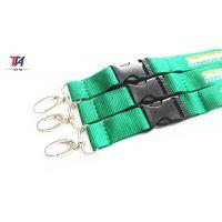 厂家热销 带织唛标签丝印挂绳 涤纶材质