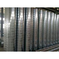 中信镀锌螺旋风管 螺旋风管白铁皮加工 环保通用
