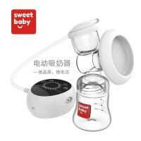厂家直销 电动吸奶器自动大吸力挤奶器硅胶吸乳器集乳器