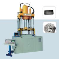 乐桐铝水表(表壳)拉伸液压机 铝灯罩四柱拉伸油液压机