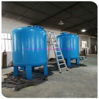 碳钢机械30吨每小时石英砂过滤器 活性炭过滤器广州清又清