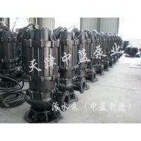高效耐磨污水排污潜水泵 中蓝制造