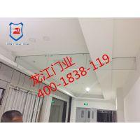 供应6mm8mm玻璃挡烟垂壁|硅胶布电动式挡烟垂壁|3C检验报告|山东龙江门业400-1838119
