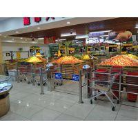 超市防盗感应门,超市圆柱摆闸,超市感应门