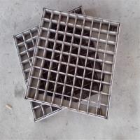 耀恒 不锈钢格栅地沟盖板 金属格栅盖板定做 信誉供货商家