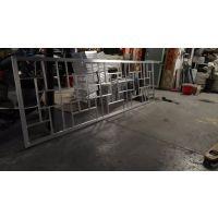 定制绿化花坛金属围栏铝管焊接加强型防护铝花格