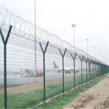 浸塑护栏网 绿色铁丝网 公路护栏网