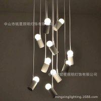 吧台灯具 设计师个性 创意 艺术现代简约LED吊灯小鸟吊灯吧台灯具