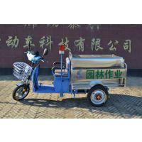 电动三轮不锈钢箱体保洁车、小型不锈钢环卫车TX-BXG 德利泰牌