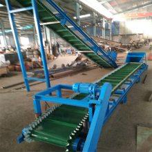 卢湾区加工散粮食颗粒槽型输送机 0.5米带宽9米长圆管皮带机