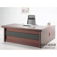 北京腾达大森实木油漆经理办公桌实木电脑桌实木班台DS-SWC011