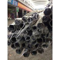 金弘德现货促销304不锈钢异型管、不锈钢六角装饰异型管!