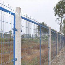 定制园林防护栅栏 框架护栏网 绿色包塑铁丝围栏