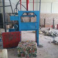 废纸箱打包机 塑料瓶压块机厂家 启航铁刨花挤包机价格