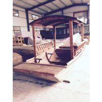渔船保洁船可定制木船
