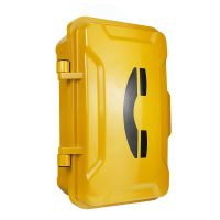 IP直通防水电话机厂家 免拨号直通隧道应急电话