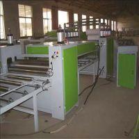 木纹纸贴面机械 复合板家具板免漆贴面机 pvc卷材覆膜机 覆面机 规格齐全