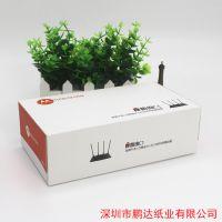 广东深圳宣传广告盒抽纸摩路由定制版---深圳鹏达纸业