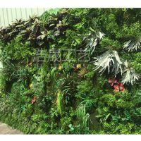 东莞专业制作绿植墙 草皮混搭背景墙 仿真植物墙深圳可上门安装 包运费
