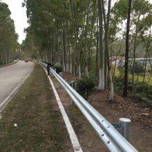 路边波形梁钢防护栏 中山双波围栏 乡镇W型双波护栏