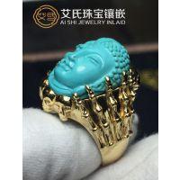 【珠宝首饰镶嵌】珠宝首饰加工工艺,绿松石专业镶嵌