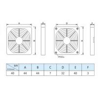 林飞翔销售4CM风扇网 40*40mm风扇塑胶防尘过滤网 高品质网罩现货