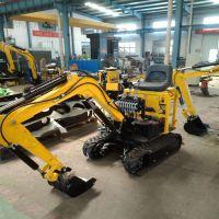 山东森泰制造小型挖掘机 10型履带式挖掘机 全新液压挖沟机