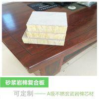 外墙高强度岩棉复合板 砂浆岩棉条复合板 盈辉岩棉制品