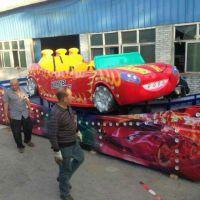 安康炫彩电动漂移飞车游乐设备玻璃钢材质轨道漂移类电动玩具时代冲浪