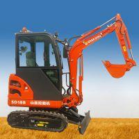 新款迷你型挖掘机系列之尊贵型SD18B无尾小型挖掘机 山鼎厂家直销