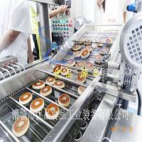甜甜圈面包油炸机 两面油炸 —优品机械 厂家专业技术