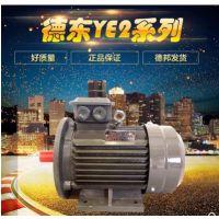 厂家直销德东YE2-100L-6三相异步电动机1.5KW电机