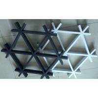 广东铝格栅 三角铝格栅吊顶厂家广东德普龙天花