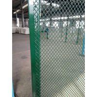 厂家现货供应俊松牌墨绿色PVC4mm丝径网孔5x5cm包胶菱形网,网孔均匀、网面平整
