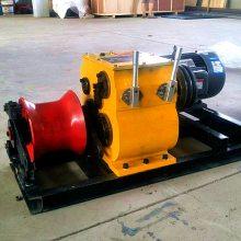 优质电力绞磨机 5吨柴油绞磨价格 电缆牵引机 洪涛电力